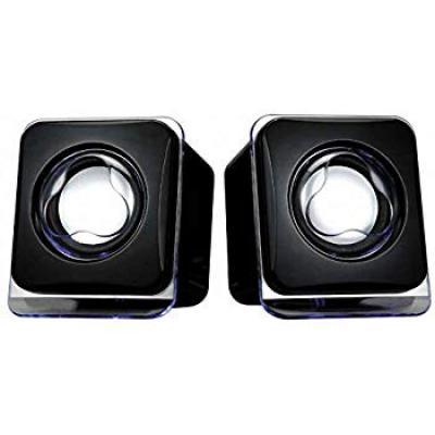 Terabyte Mini USB2.0 Speaker (Black)