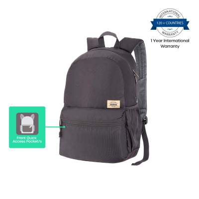 American Tourister Copa 23 Ltrs Grey Casual Backpack (FU9 (0) 08 001)
