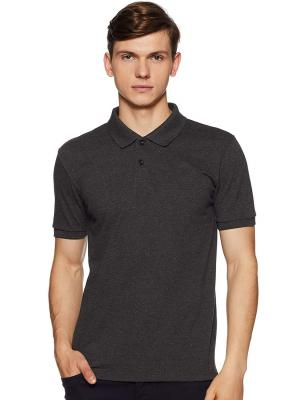 6 Degrees Men's Solid Regular fit Polo