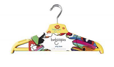 Belocopia Inlove 6 Piece Plastic Hanger