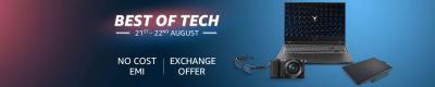 Best of Tech Sale: No Cost EMI & Exchange offer