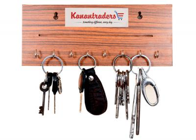 Kanantraders OneLine Wooden Key Holder