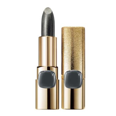 L'Oreal Paris Color Riche Metallic Addiction Lipstick, Silver Spice 630, 3.7g