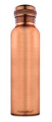 Signoraware Copper Bottle Matt 900 Ml