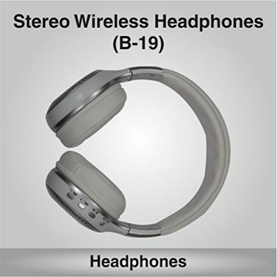 PERSANG KARAOKE Wireless Bluetooth Headphones with FM Radio/TF Card/LCD Display