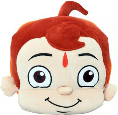 Chhota Bheem Face Plush Bag with Embroidery - 30 cm