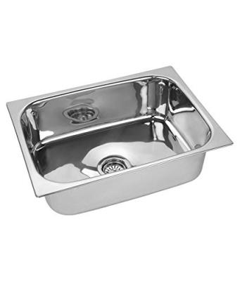 ROYAL SAPPHIRE Stainless Steel Sink (Silver, 18x16x8-inch)