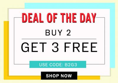 NNNOW: 50% Off+ Buy 2 Get 3 Free