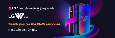 New Launch: LG W Series