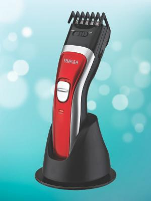 Inalsa IBT 03 Beard Trimmer (Red/Black)