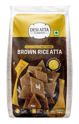DESI ATTA CO Brown Rice Atta PP 200g