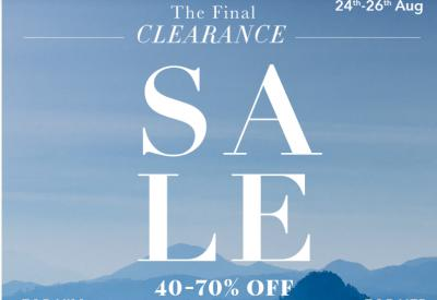 Myntra: The Final Clearance Sale: Up to 70% Off + Additional Bank Offer