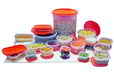 Princeware SF Tal Pak Container Set, 20-Pieces