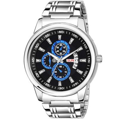 Swisstyle Day and Date Display Everyday Watch for men-SS-GR6623-BLK-CH