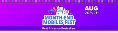 Flipkart Month End Mobile Fest: Discount, Exchange offer and More