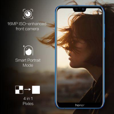 Honor 9N (Blue, 4GB RAM, 64GB Storage)