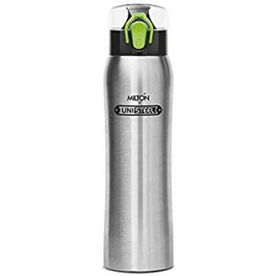 Milton Sparx Stainless Steel Bottle, 710ml, Steel Plain