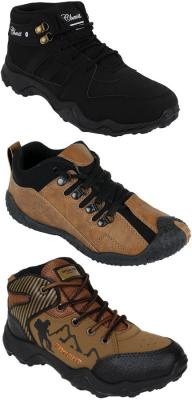 [Pack of 3] Chevit Shoes | Sports | Running | Outdoor