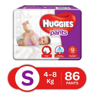 Buy Huggies Wonder Pants Diapers, Small (Pack of 86)