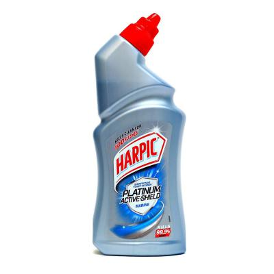 Harpic Platinum Active-Shield Toilet Cleaner, Marine - 500ml