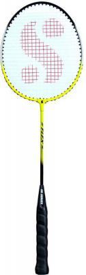 Silver Flex Multicolor Strung Badminton Racquet