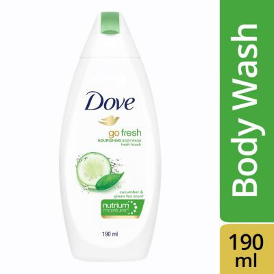 Dove Go Fresh Nourishing Body Wash, 190ml