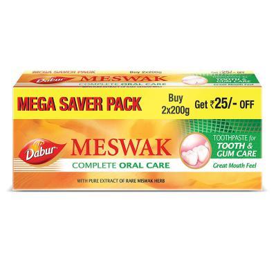 Dabur Meswak Toothpaste - 200gms + 200gms