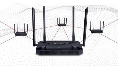 iBall 1200M Mesh Gigabit WAN Dual Band AC Router