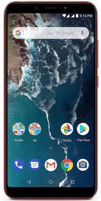 Mi A2 (Red, 6GB RAM, 128GB Storage)