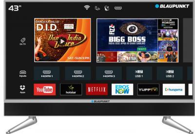 Blaupunkt 109cm (43 inch) Ultra HD (4K) LED Smart TV  with In-built Soundbar
