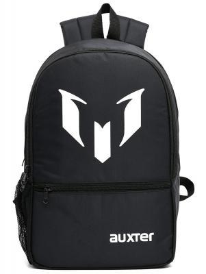 AUXTER Unisex 33 Litre Black Polyester School Backpack