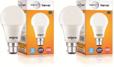 Wipro 10 W Standard B22 LED Bulb