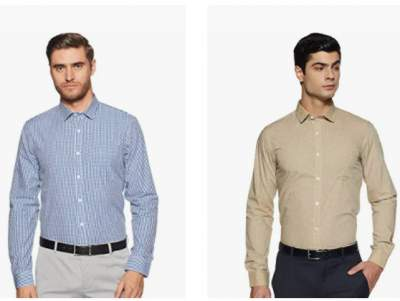 Excalibur by Unlimited Mens Shirts minimum 65% Off