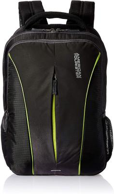 American Tourister Polyester 32 Ltrs Black Laptop Backpack