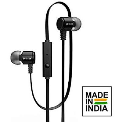Evidson BassFlow X93 Black in-Ear Wired Earphones