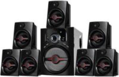 I Kall Ik-4444 BT 7.1 Speaker Bluetooth Home Audio Speakers