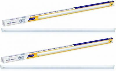 Wipro 4 Feet 22Watt LED Tube Batten Straight Linear LED Tube Light (White, Pack of 2)