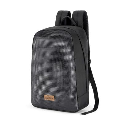 Footloose by Skybags 17 Ltrs Black Casual Backpack (Rocky)
