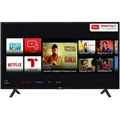 TCL 100.3 cm (40 Inches) Full HD LED Smart TV 40S62FS (Black)