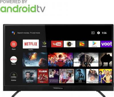 Thomson 138.78cm (55 inch) Ultra HD (4K) LED Smart Android TV  with In-built soundbar & Netflix