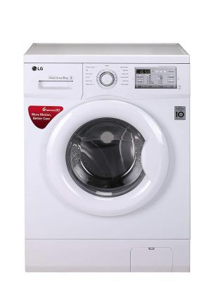 LG 6 kg Inverter Fully-Automatic Front Loading Washing Machine (FH0FANDNL02, White, Inbuilt Heater)