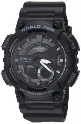 Casio 1BV Blk Ana Digi Watch