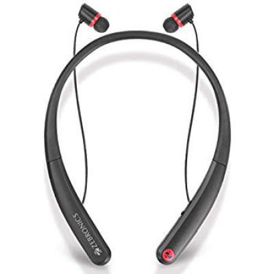 Zebronics Journey Wireless Flexible Neckband Stereo Earphones 4.1 with Mic