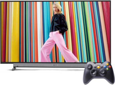Motorola 107.6cm (43 inch) Full HD LED Smart Android TV (43SAFHDM)