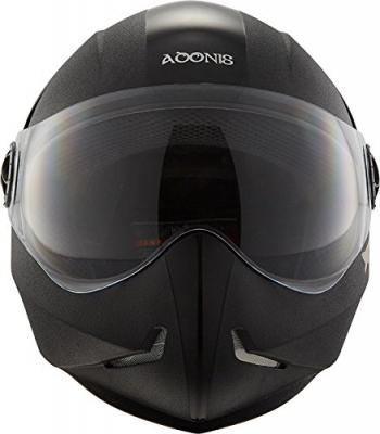 Steelbird SB-50 Adonis Classic Black with Plain Visor