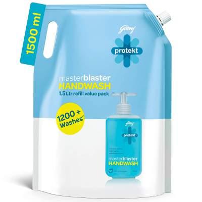 Godrej Protekt Masterblaster Handwash Refill - 1500 ml
