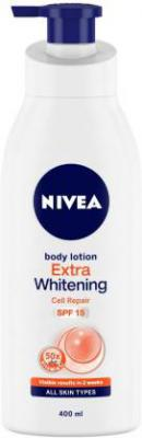 Nivea Extra Whitening Cell Repair SPF 15 Body Lotion  (400 ml)
