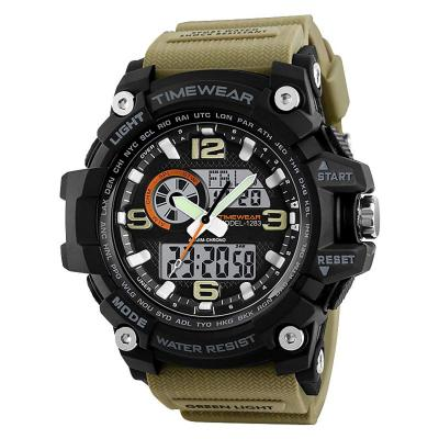 Timewear Military Series Analogue Digital Black Dial Watch For Men & Boys