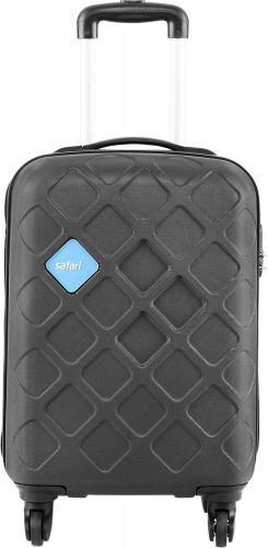 Safari Mosaic Cabin Luggage - 22 inch Silver