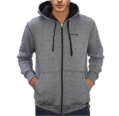 Scott International Mens Cotton Blend Hooded Sweatshirt